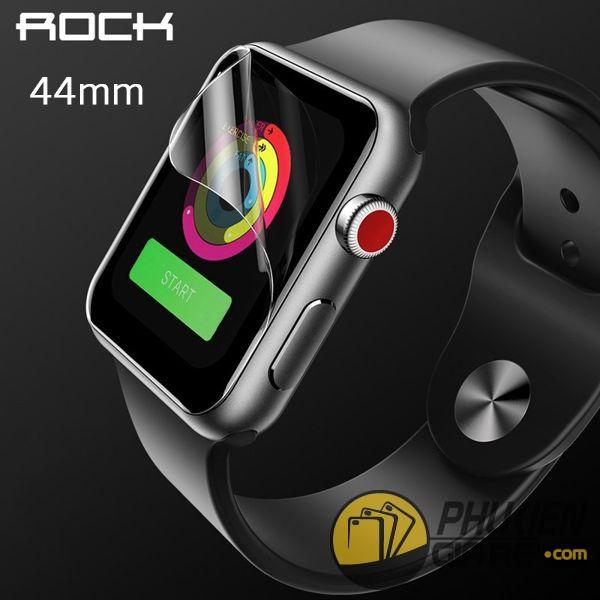 dán màn hình apple watch 44mm - dán bảo vệ apple watch 44mm - miếng dán apple watch 44mm rock hydrgel (14870)