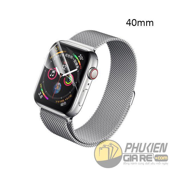 dán ppf apple watch 40mm - dán bảo vệ apple watch series 4 40mm - miếng dán màn hình apple watch 40mm newmond (14821)