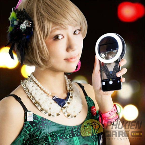 đèn led trợ sáng chụp ảnh selfie xj-01- selfie ring light xj-01 (14013)