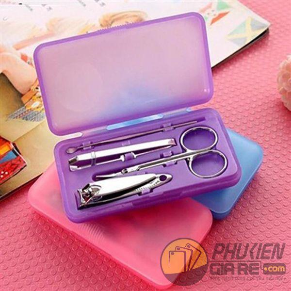 Bộ hộp dụng cụ làm móng 4 món nhỏ gọn