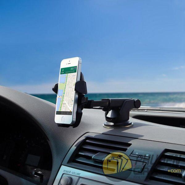 Giá đỡ điện thoại trên xe hơi đế hít, cổ dài (long neck holder)