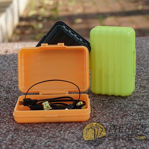 Hộp đựng phụ kiện tai nghe, cáp sạc kiểu vali mini
