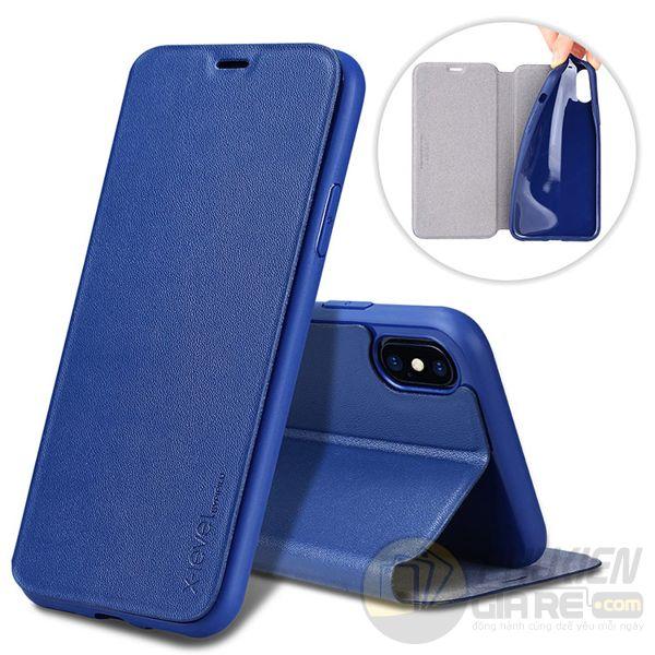 Bao da iPhone Xr siêu mỏng Pipilu X-Level (Fibcolor Series)