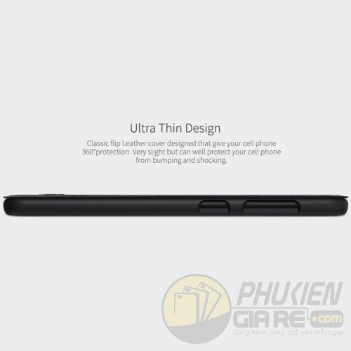 Bao da Samsung Galaxy A30 hiệu Nillkin (QIN Series)