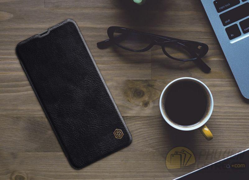 Bao da Samsung Galaxy A70 hiệu Nillkin (QIN Series)