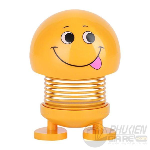 Emoji lò xo lắc đầu vui nhộn trang trí xe hơi, để bàn siêu dễ thương