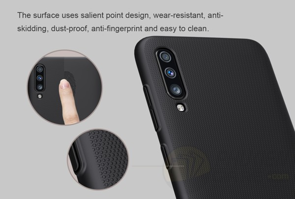 Ốp lưng Galaxy A70 Nillkin Super Frosted Shield