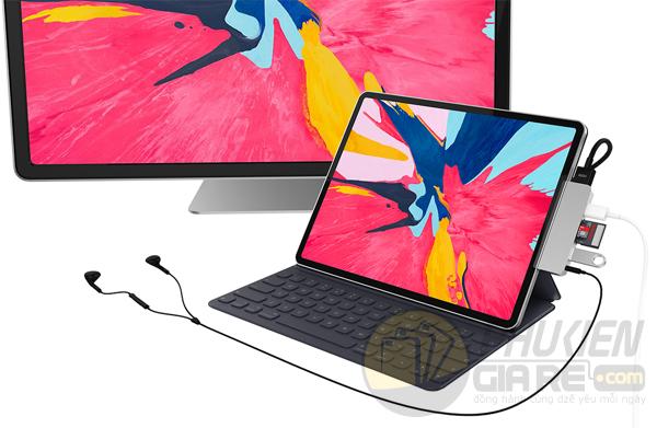Cổng Chuyển Đổi USB-C HyperDriver Hub for iPad Pro