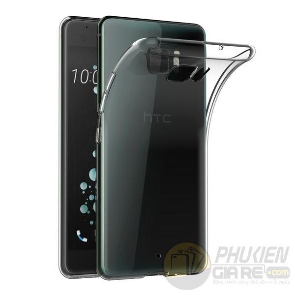 Ốp lưng HTC U Ultra dẻo trong suốt siêu mỏng
