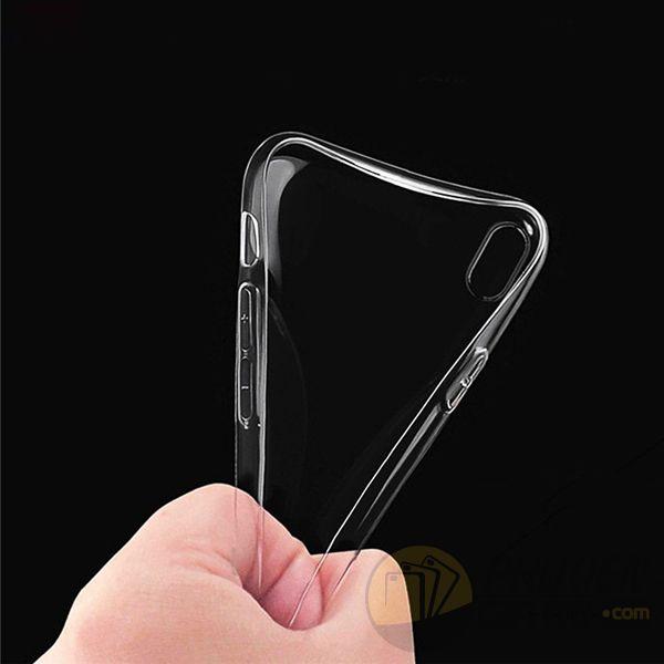 Ốp lưng iPhone X dẻo trong suốt siêu mỏng