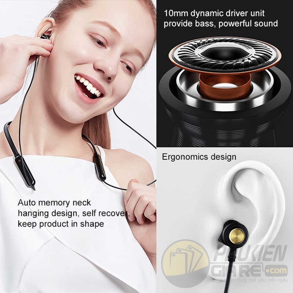 Tai nghe bluetooth Nillkin Soulmate Neckband Wireless Earphone