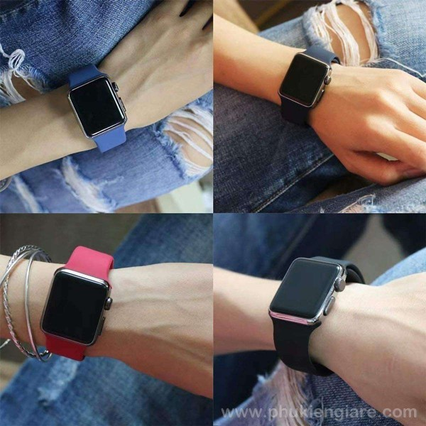 Dây đeo Apple Watch 40mm Kakapi Silicone Sport
