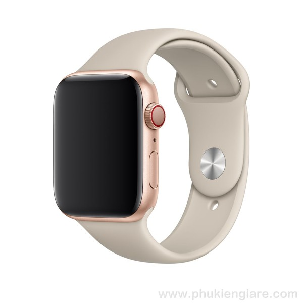 Dây đeo Apple Watch 44mm Kakapi Silicone Sport