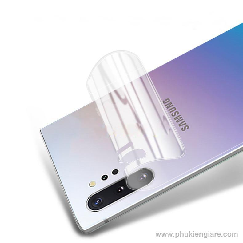 Miếng dán bảo vệ Galaxy Note 10 Plus Newmond PPF mặt sau