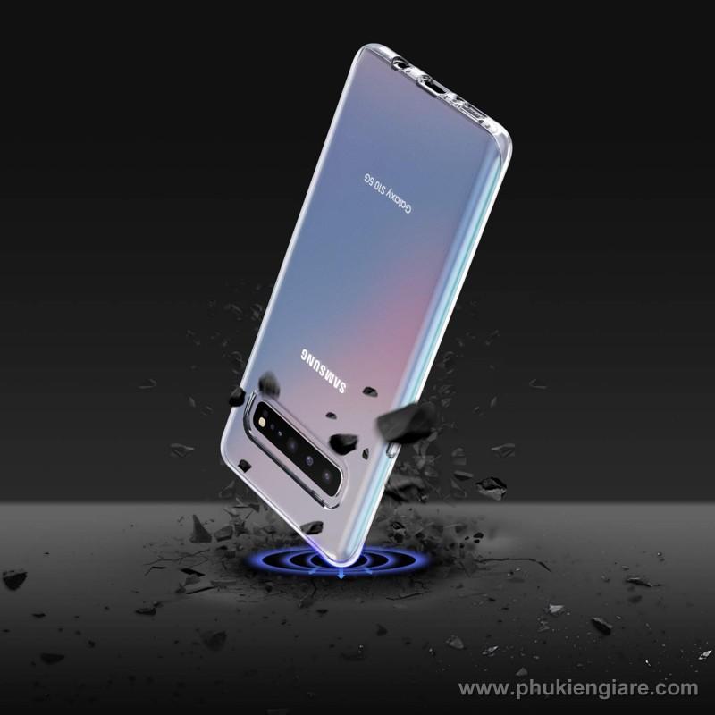 Ốp lưng Galaxy S10 5G TPU dẻo siêu mỏng Trong suốt