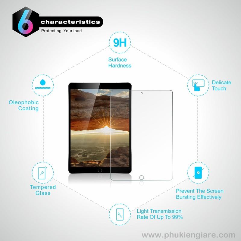 Miếng dán cường lực iPad Pro 10.2 Glass