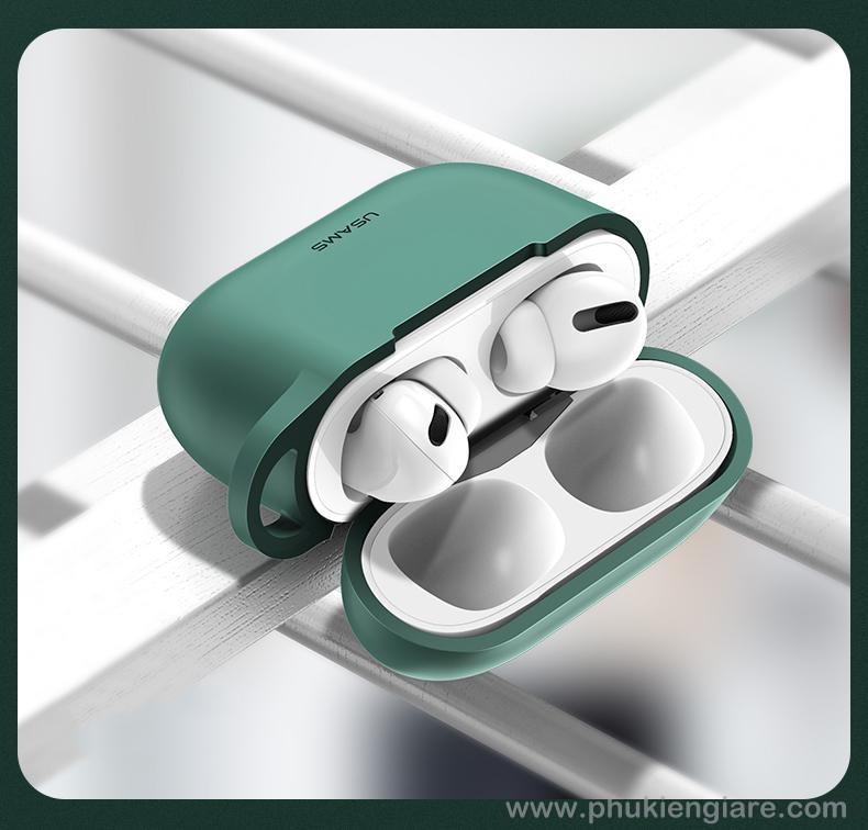 Hộp Đựng Tai Nghe Airpods Pro Usams TPU Protective