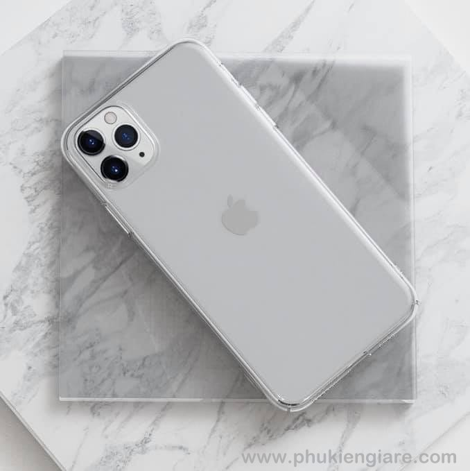 Ốp lưng iPhone 11 Pro Max Memumi Slim Trong suốt