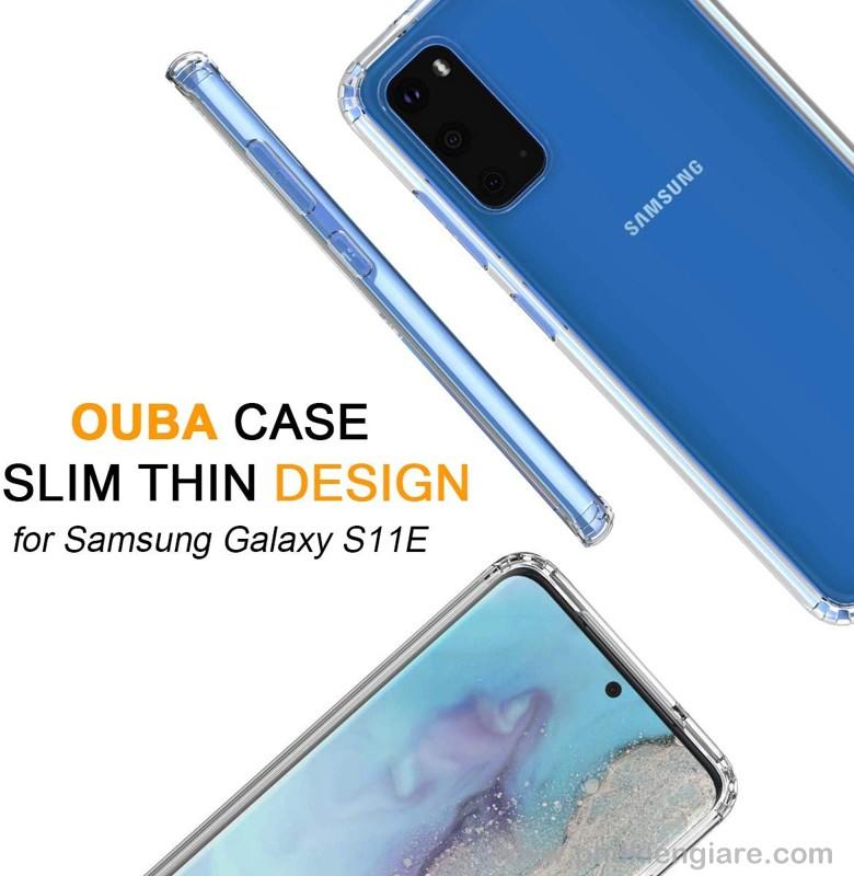 Ốp lưng Galaxy S11e TPU dẻo siêu mỏng Trong suốt
