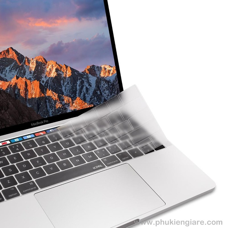 Phủ Phím MACBOOK Pro 16 in JCPAL Fitskin