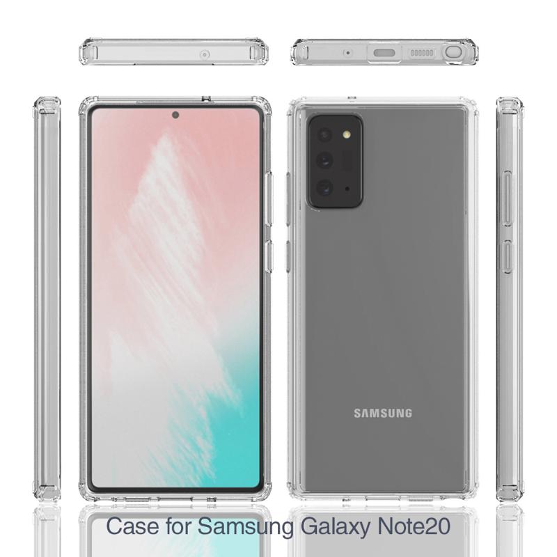 Ốp lưng cho Galaxy Note 20 Ultra Likgus PC chống sốc Trong suốt - Hàng Chính Hãng