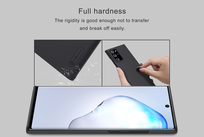 Ốp lưng Galaxy Note 20 Ultra Nillkin Super Frosted Shield
