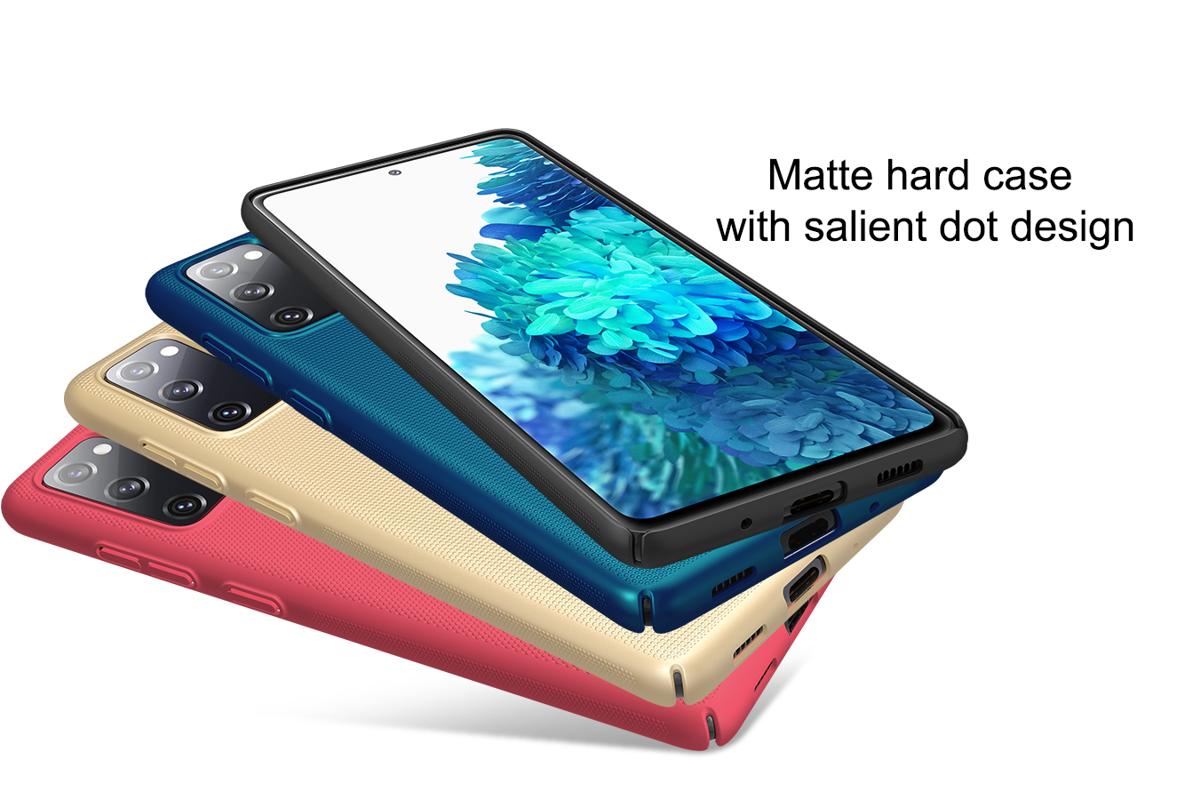 Ốp lưng Galaxy S20 FE Nillkin Super Frosted Shield - Hàng Chính Hãng