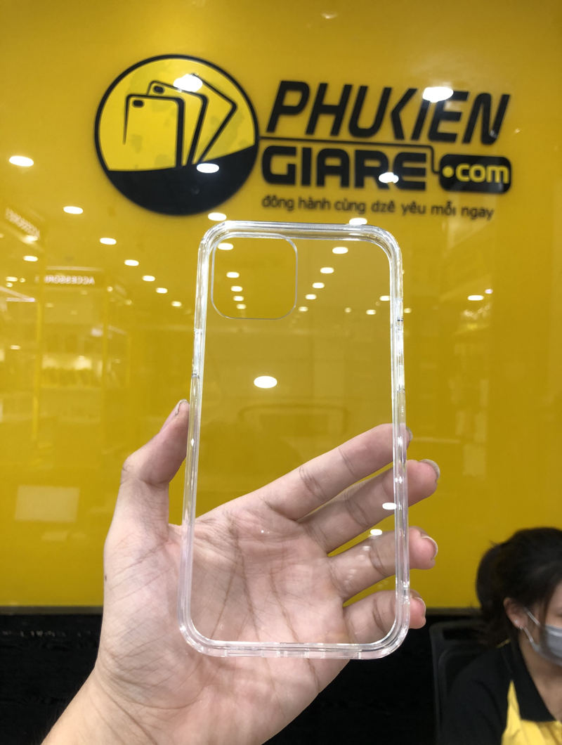 Ốp lưng iPhone 12 6.1in Likgus PC chống sốc Trong suốt