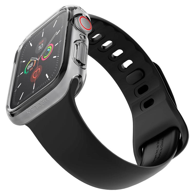 Ốp lưng Apple Watch 44mm Spigen Ultra Hybrid - Hàng Chính Hãng