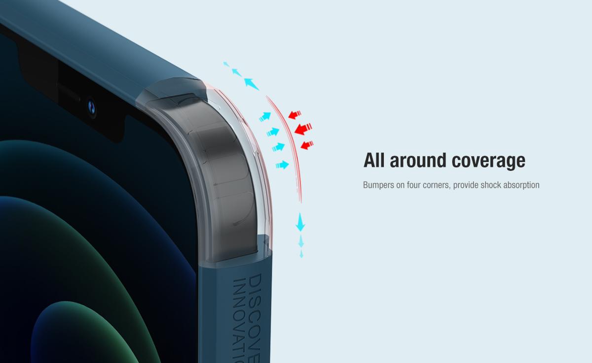 Ốp lưng iPhone 12 Pro Max Nillkin Super Frosted Shield  - Hàng Chính Hãng