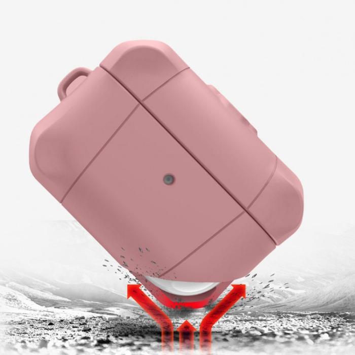Ốp lưng Airpods Pro Itskins Spectrum Solid Antimicrobial - Hàng Chính Hãng