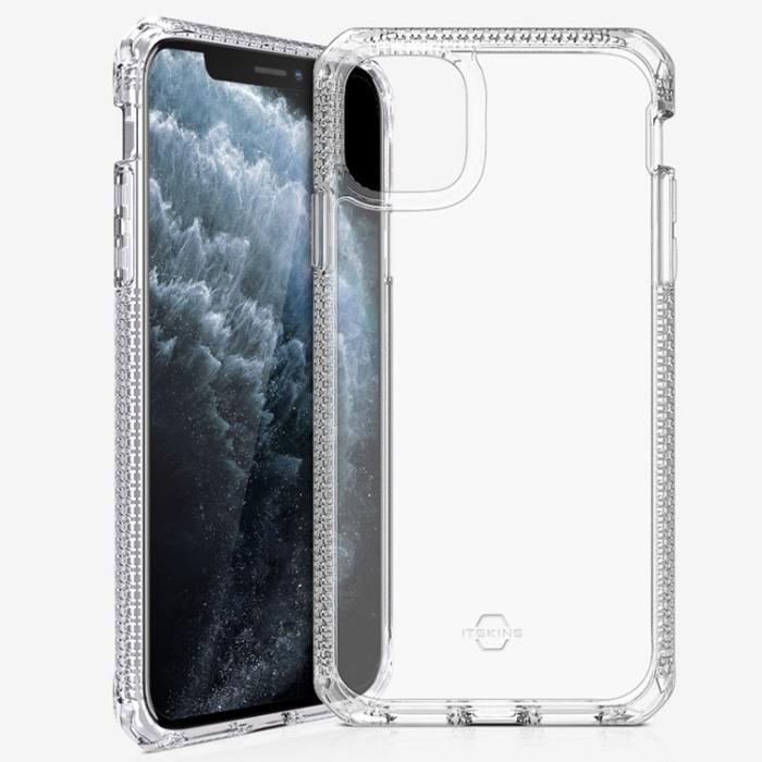 Ốp lưng iPhone 11 Pro Max Itskins Hybrid Clear - Hàng Chính Hãng