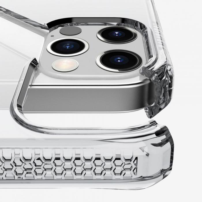 Ốp lưng iPhone 12/12 Pro Itskins Spectrum Clear Antimicrobial - Hàng Chính Hãng