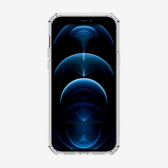 Ốp lưng iPhone 12 Pro Max Itskins Spectrum Clear Antimicrobial - Hàng Chính Hãng