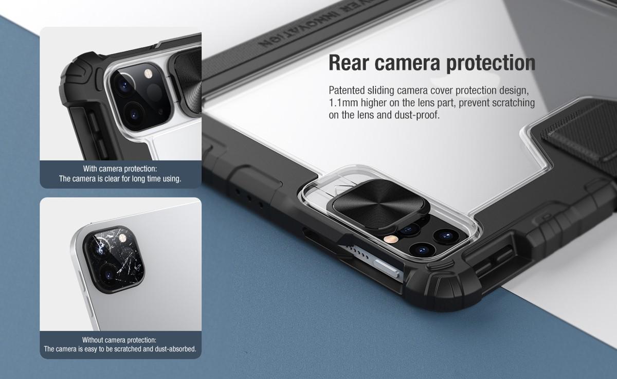 Bao da iPad Pro 11 2020 Nillkin Bumper Cam Shield - Hàng Chính Hãng