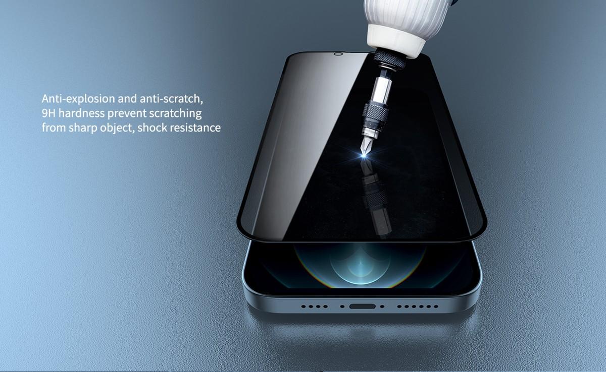 Miếng dán cường lực iPhone 13 Mipow Chống Vân Tay 2.7D - Hàng Chính Hãng