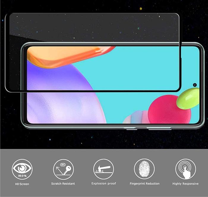 Miếng dán cường lực Galaxy A72 Glass 21D siêu mỏng