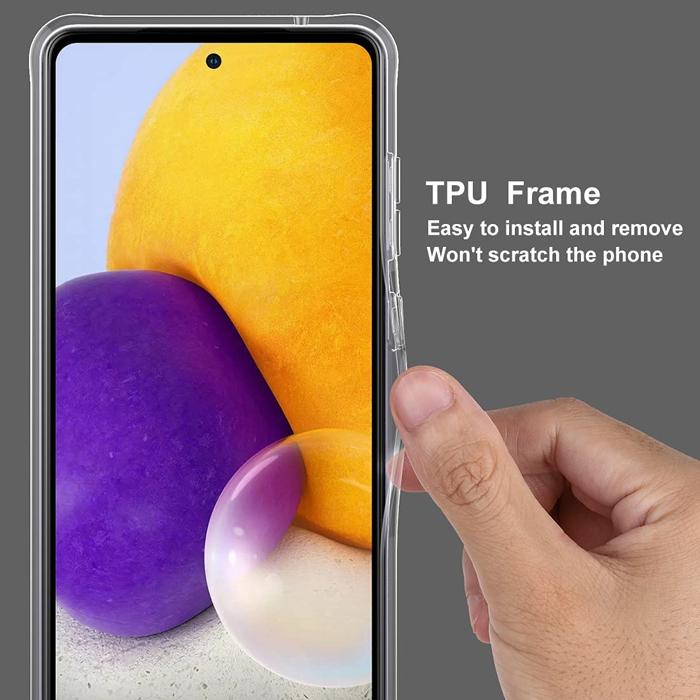 Ốp lưng Galaxy A72 TPU dẻo siêu mỏng Trong suốt