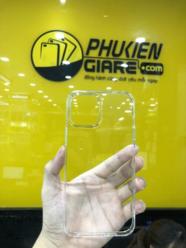 Ốp lưng iPhone 13 Pro Memumi Slim Trong suốt - Hàng Chính Hãng