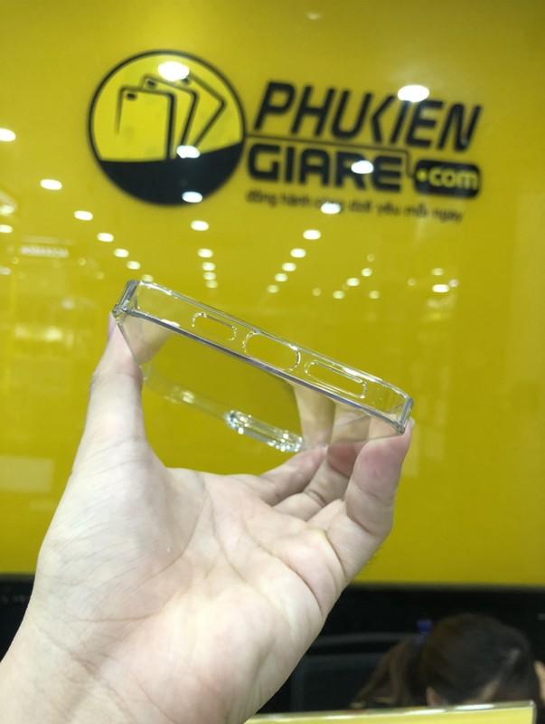 Ốp lưng iPhone 13 Pro Max Memumi Slim Trong suốt - Hàng Chính Hãng