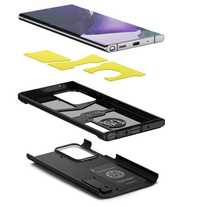Ốp lưng Galaxy Note 20 Ultra Spigen Tough Armor - Hàng Chính Hãng