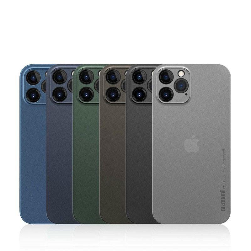 Ốp lưng iPhone 13 Pro Memumi Slim siêu mỏng 0.3mm - Hàng Chính Hãng