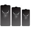 Miếng dán cường lực iPhone 12 Pro Max Mipow Kingbull Premium 2.7D full viền Trong suốt - Hàng Chính Hãng