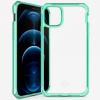 Ốp lưng iPhone 12 Pro Max Itskins Hybrid Clear - Hàng Chính Hãng