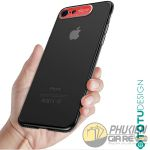 Ốp lưng iPhone 7 cứng trong suốt Totu Design Sparkling 3397
