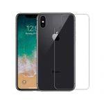 Dán cường lực iPhone X mặt lưng trong suốt Glass (13780)