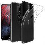Ốp lưng Nokia X6 2018 dẻo trong suốt siêu mỏng (12868)