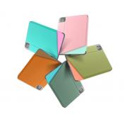 Bao da iPad Pro 12.9 2020 TOMTOC Smart-Tri Hỗ Trợ Sạc Không Dây Apple Pencil - Hàng Chính Hãng