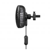Quạt mini tiện dụng cho xe ô tô Baseus Departure Vehicle Fan (5V, 3 mức tốc độ,gắn khe gió)