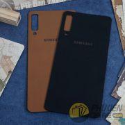 Miếng dán da Galaxy A7 2018 da Nappa mềm mại, sang trọng